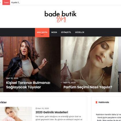 Bade Butik Blog