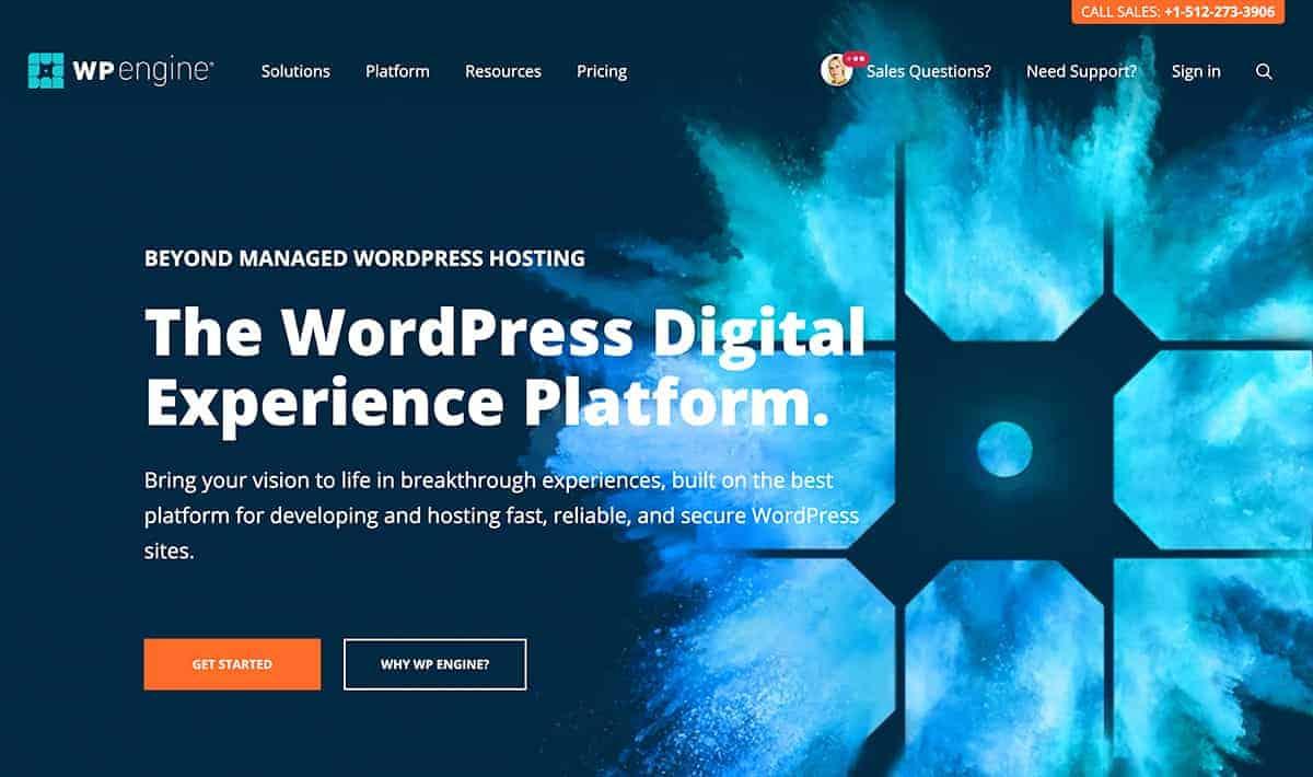 WordPress Hosting WP Engine