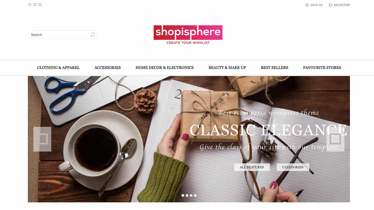 Shop is Phere