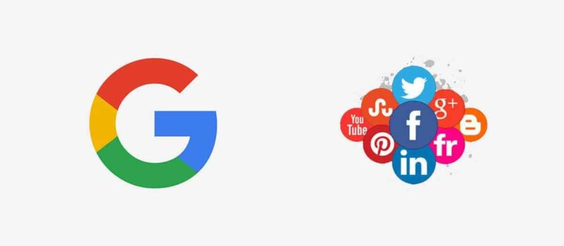 How To Add Social Media Links To Google Search Profile?