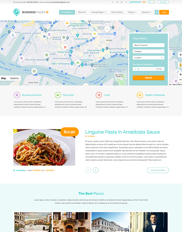 Business-Finder-listing-directory-wordpress-theme