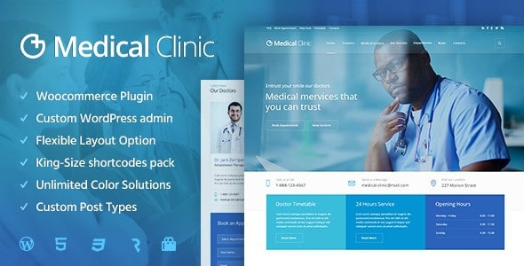medical-clinic-wordpress-temasi