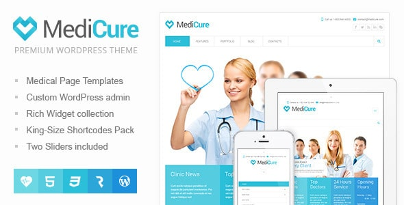 medicure-wordpress-temasi