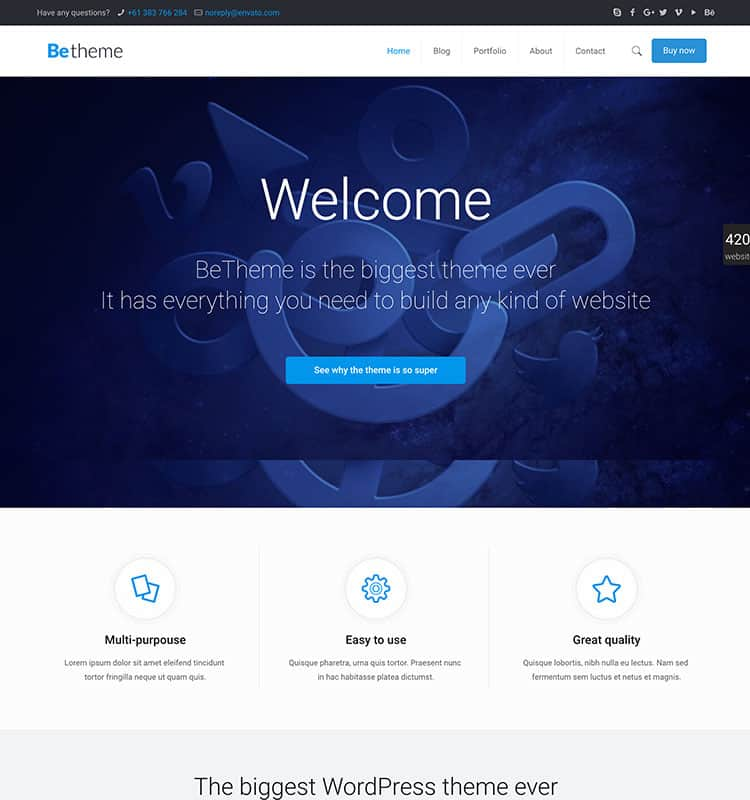 betheme-wordpress-temasi