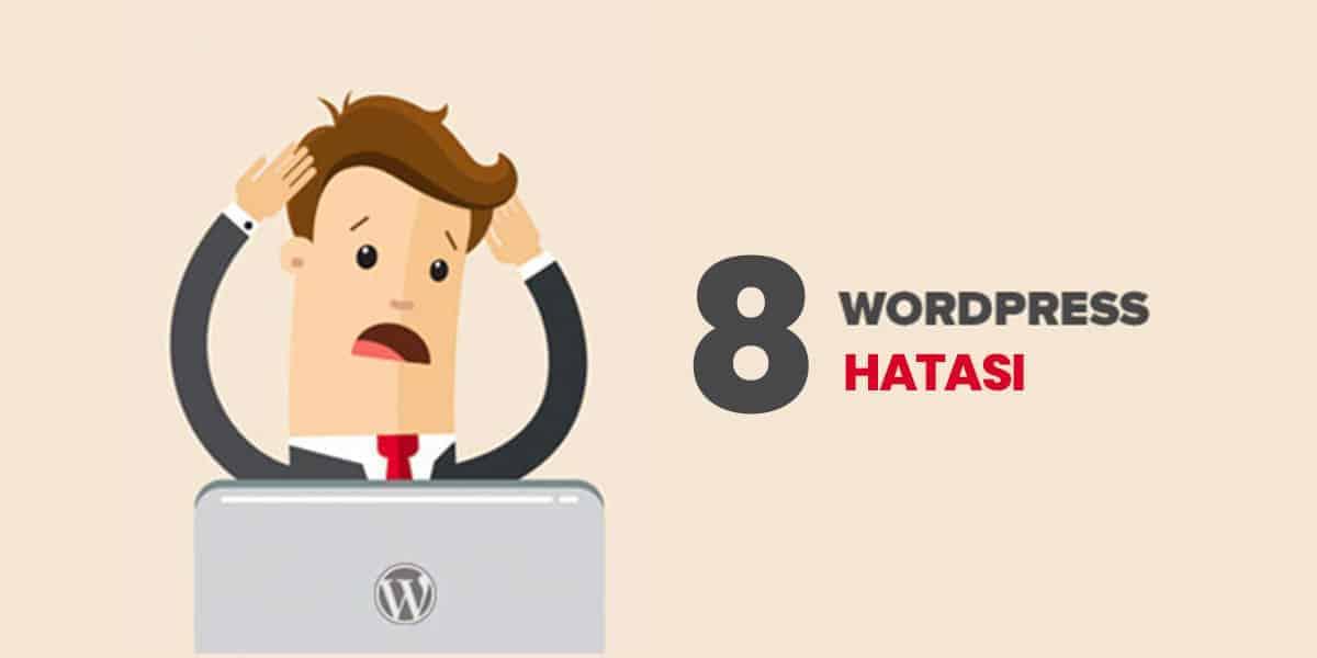 wordpress hataları