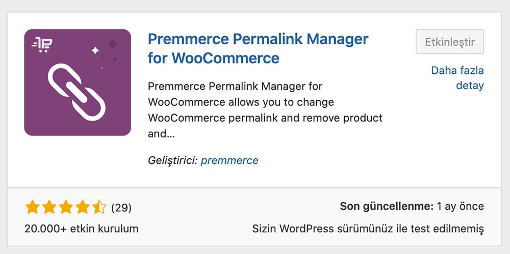 Premmerce Permalink Manager Eklentisi Kurulum ve Kullanımı