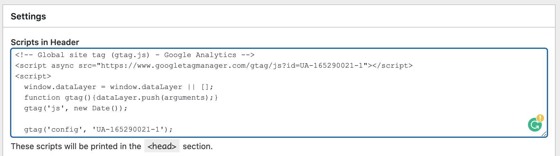 WordPress Google Analytics Kodu Ekleme