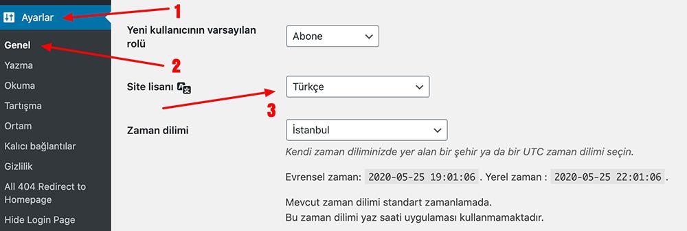 WooCommerce Türkçeleştirme