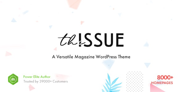 The Issue WordPress teması