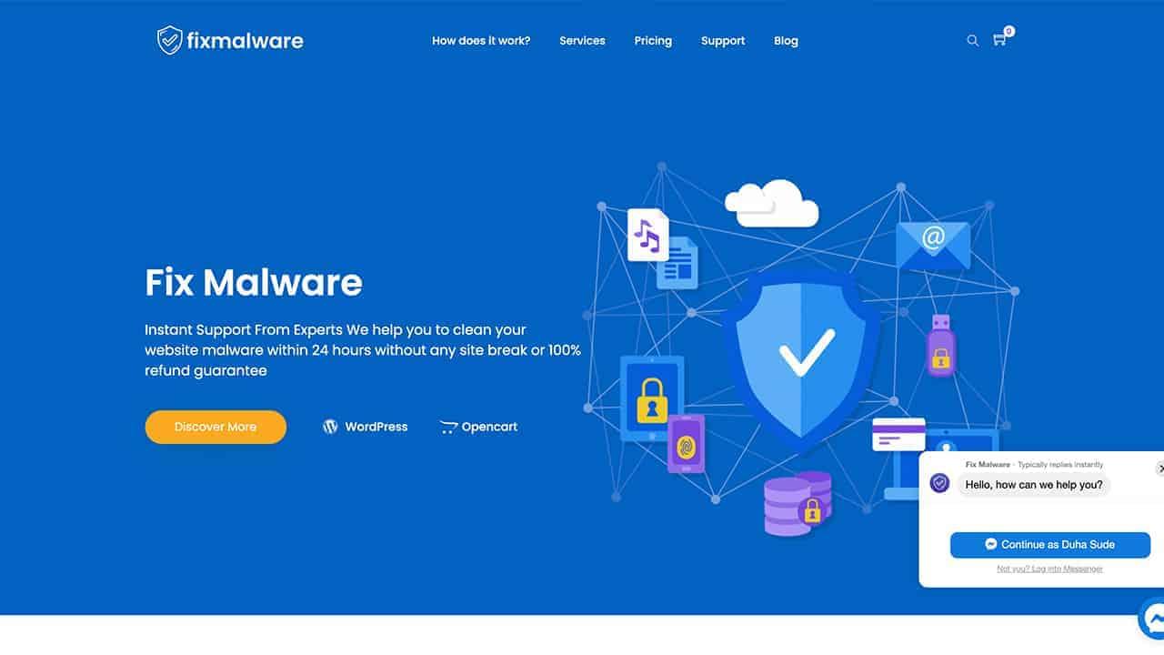 Fix Malware