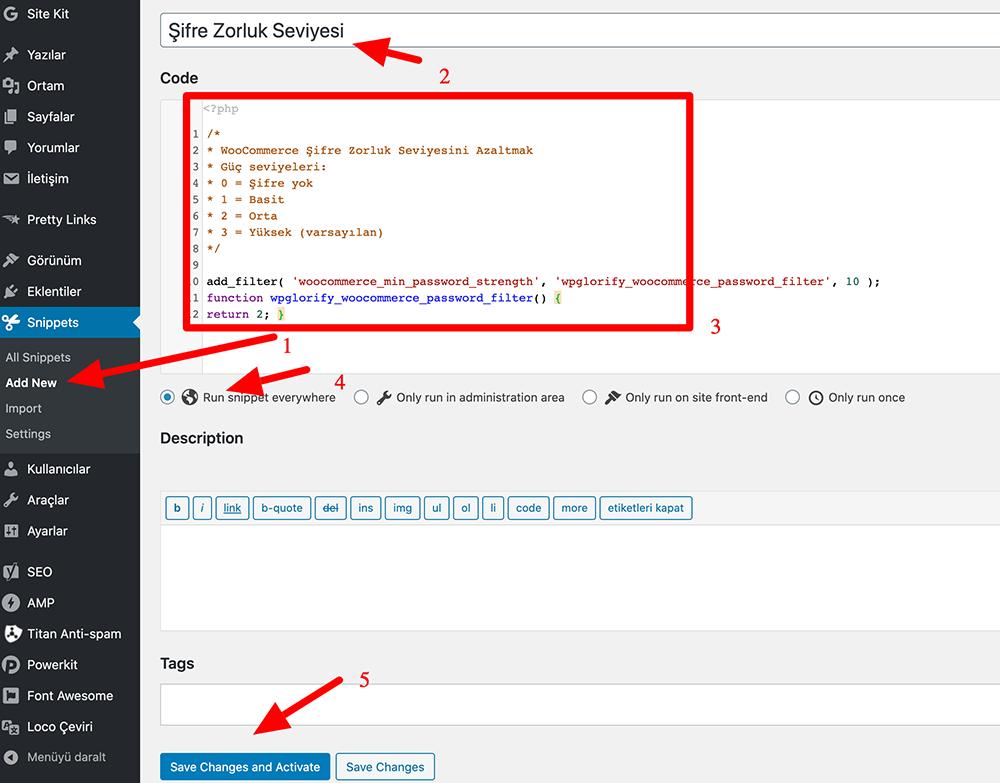 Functions.php dosyasına kod nasıl eklenir?