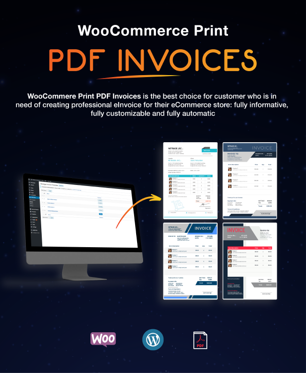 WooCommerce PDF Invoices Pro