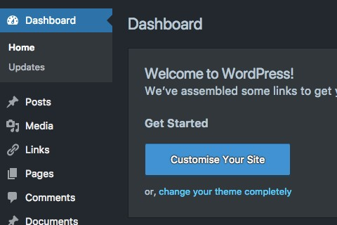 WordPress Dark Mode Görünüm