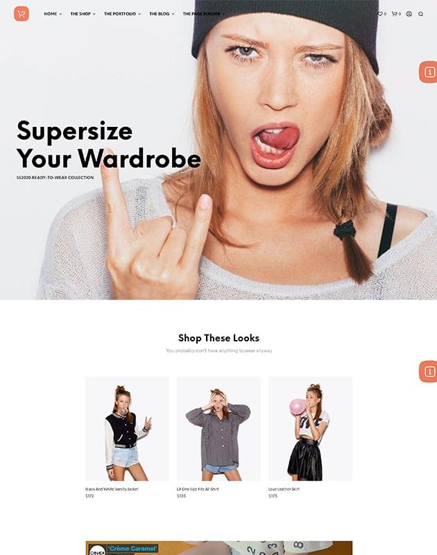 Shopkeeper E-ticaret teması