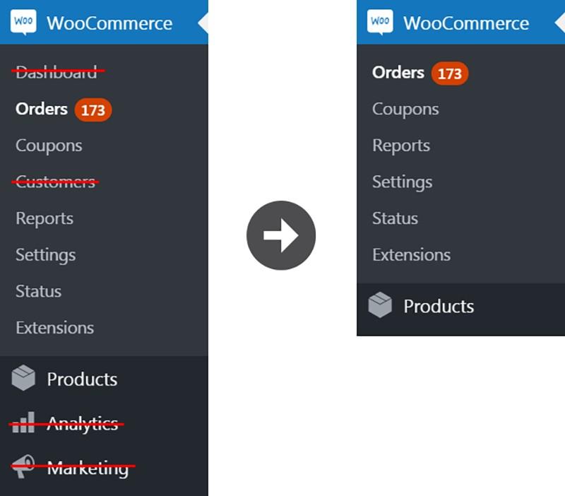 WooCommerce Özellikleri Nasıl Devre Dışı Bırakılır