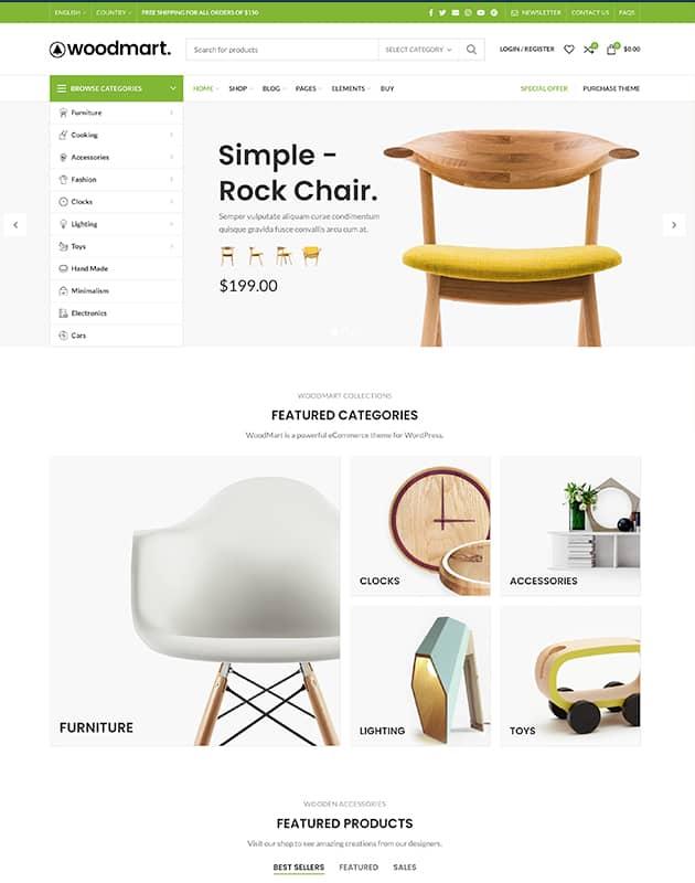 WoodMart WordPress Teması
