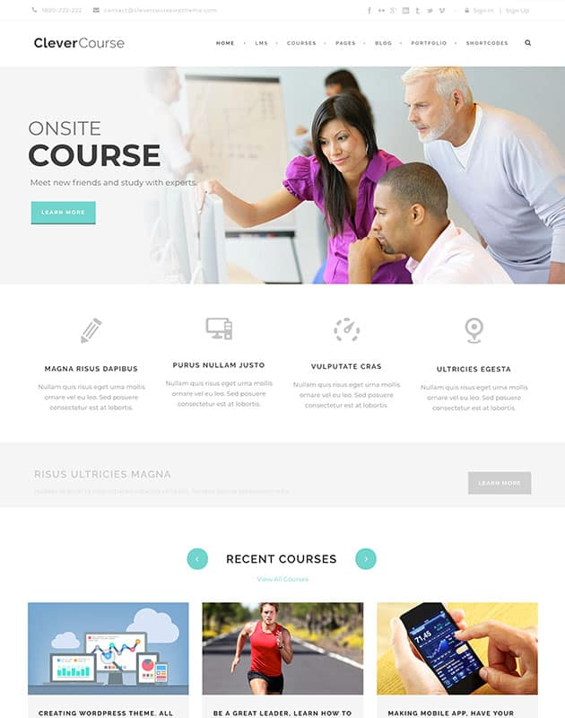 clever-course-wordpress-egitim-temasi