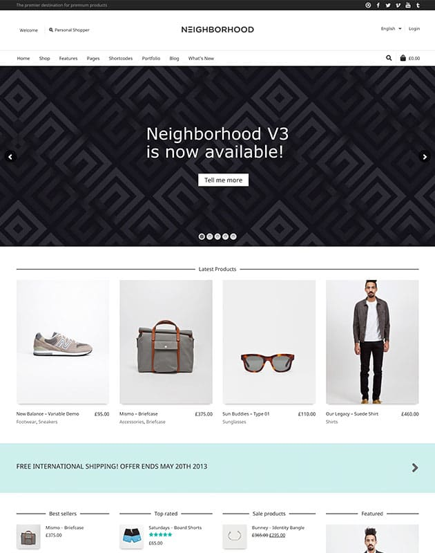 neighborhood-wordpress-e-ticaret-temasi