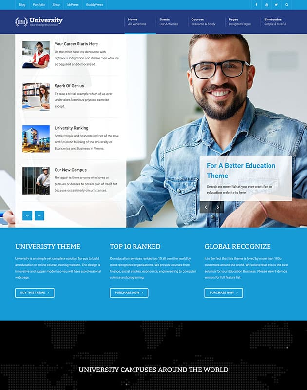 university-wordpress-egitim-temasi
