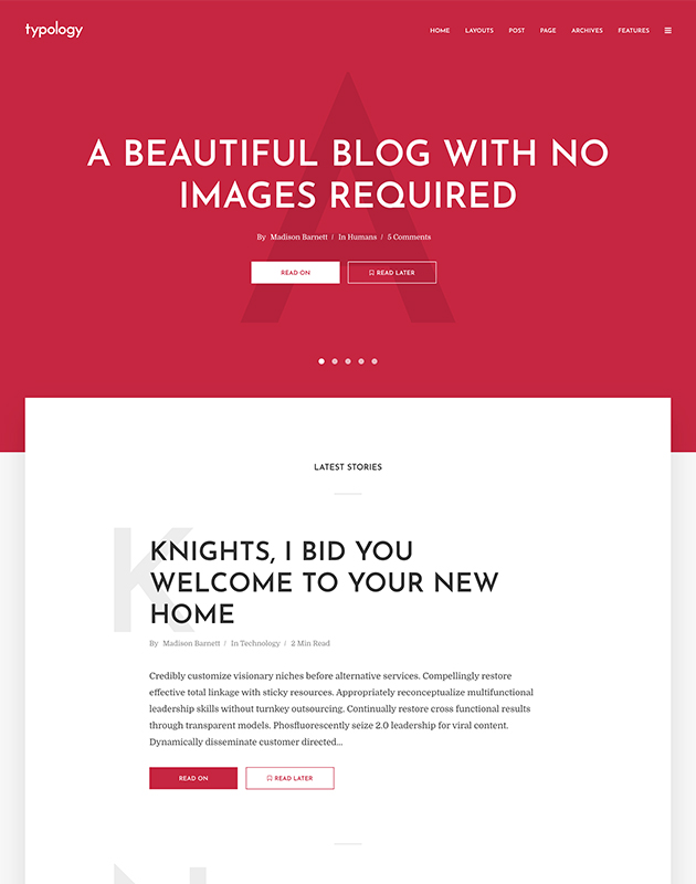 Typology-wordpress-blog-temasi
