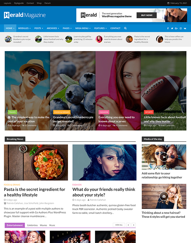 herald-wordpress-haber-temasi