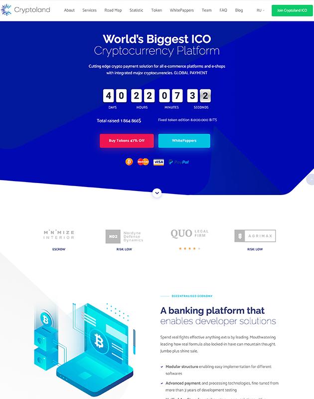 Cryptoland-wordpress-kripto-para-temasi