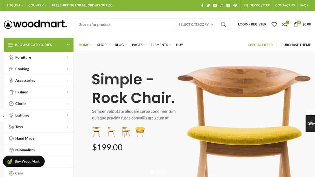 WoodMart WordPress Tema İncelemesi
