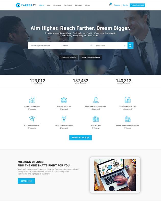 Careerfy-firma-rehberi-wordpress-temasi