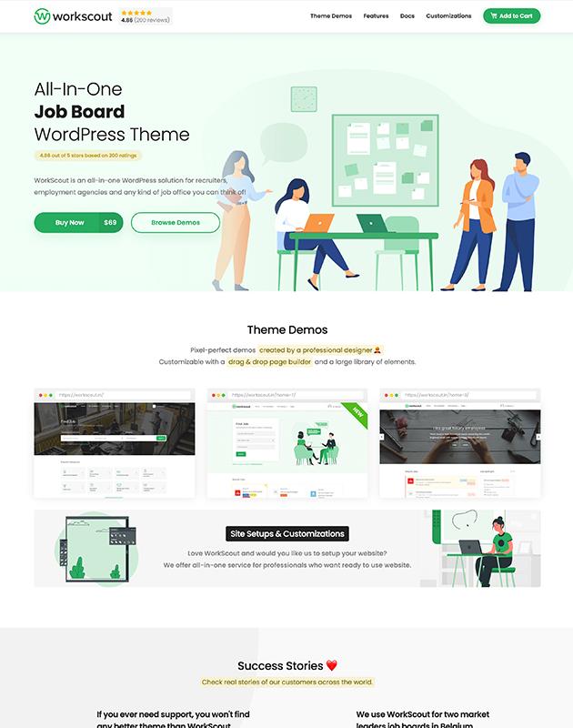 WorkScout-firma-rehberi-wordpress-temasi