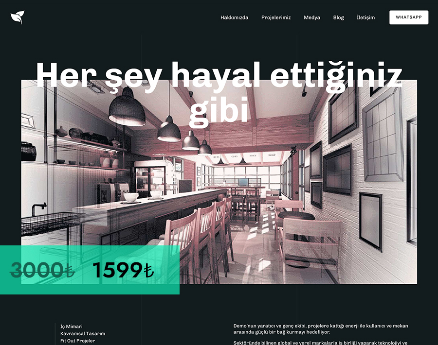 WordPress Kurumsal Site