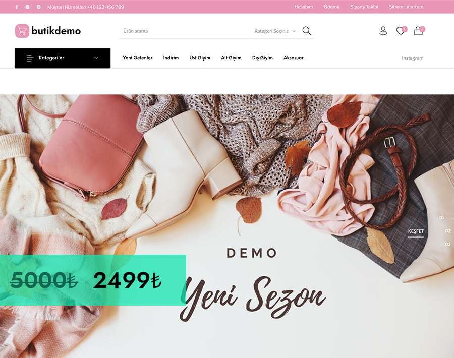 WooCommerce Demo Butik