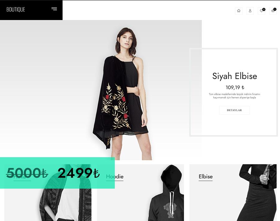 WooCommerce Demo Butik Sitesi
